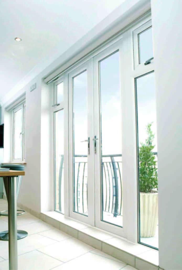 Upvc french doors inspire windows cardiff for Upvc french doors tilt and turn