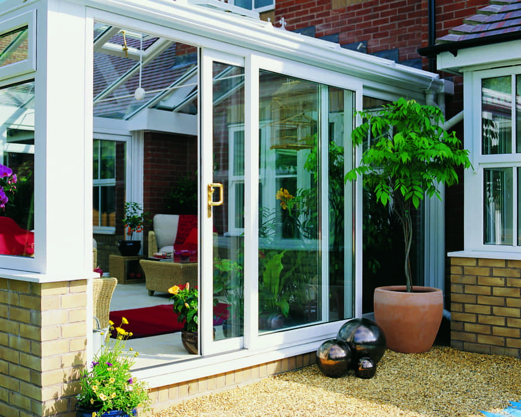 Sliding patio doors upvc doors from inspire windows for Patio door companies