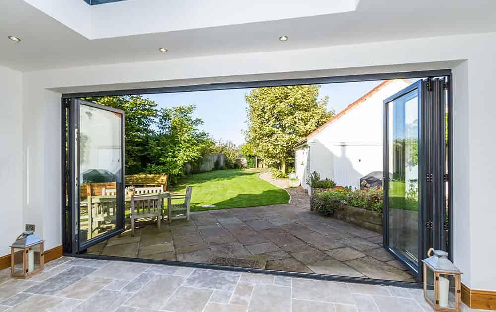Aluminium Bi-Fold Door Prices Cardiff
