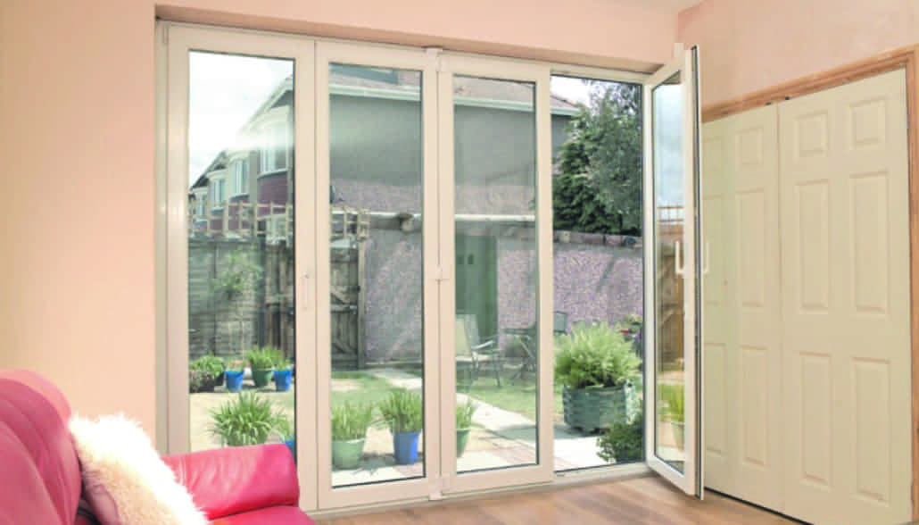 Bi fold doors cardiff folding patio doors prices upvc for Upvc french doors india