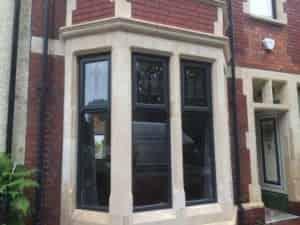 grey upvc window cost cardiff