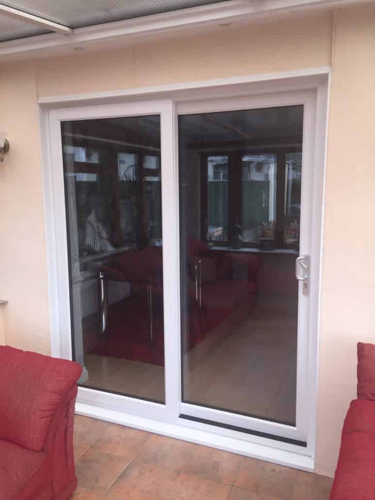 Sliding patio doors cardiff upvc patio door prices for Patio doors with side windows
