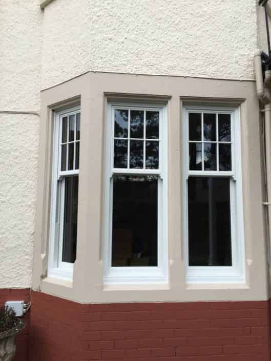 Vertical sliding sash windows Cardiff