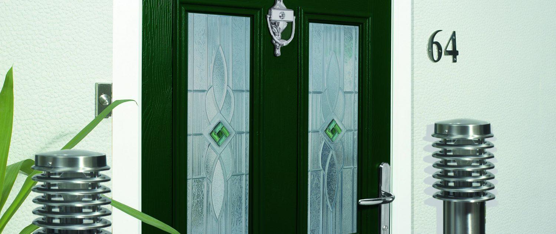 composite front doors newport
